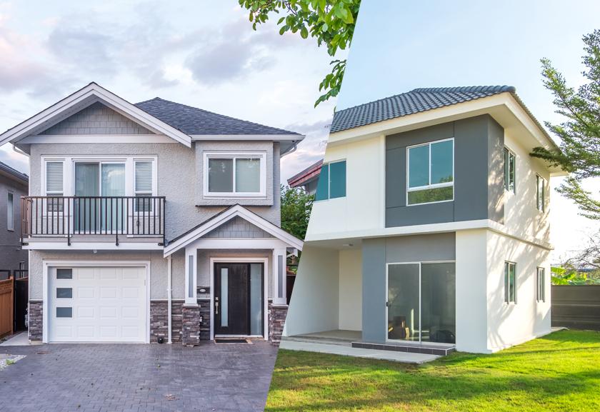 บ้านแฝดและทาวน์โฮมแปลงมุม มีความแตกต่างกันอย่างไร