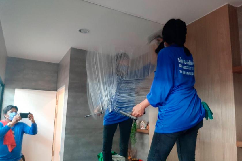 รับทำความสะอาดบ้าน นนทบุรี