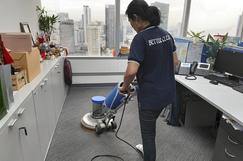 รับทำความสะอาดสำนักงาน